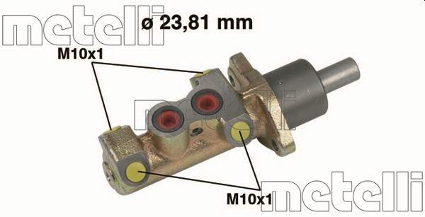 Hauptbremszylinder METELLI 05-0325