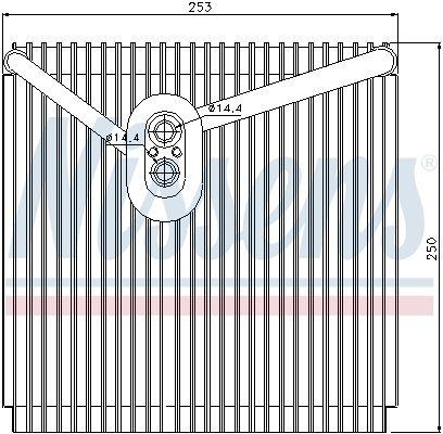 Maxgear Verdampfer Klimaanlage AC734111