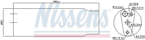 Trockner, Klimaanlage NISSENS 95170 Bild 4