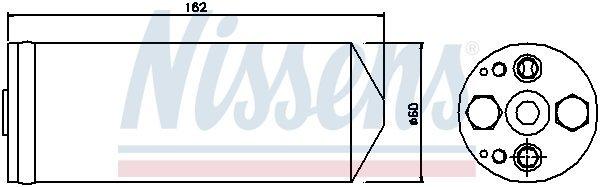 Trockner, Klimaanlage NISSENS 95345 Bild 2