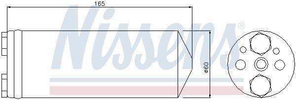 Trockner, Klimaanlage NISSENS 95425 Bild 1