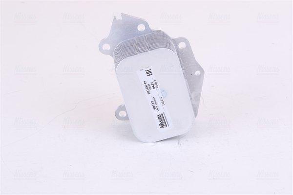 Ölkühler, Motoröl NISSENS 90717 Bild 1