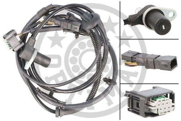 Sensor, Raddrehzahl OPTIMAL 06-S291