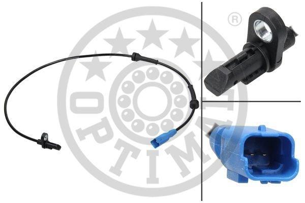 Sensor, Raddrehzahl Hinterachse beidseitig OPTIMAL 06-S550