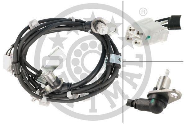 Sensor, Raddrehzahl Vorderachse beidseitig OPTIMAL 06-S827