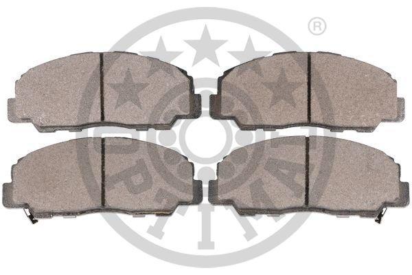 Bremsbelagsatz, Scheibenbremse Vorderachse OPTIMAL 10201 Bild 2