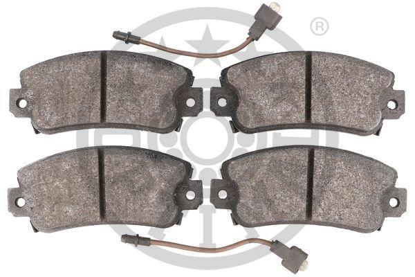 Bremsbelagsatz, Scheibenbremse Vorderachse OPTIMAL 3502 Bild 3