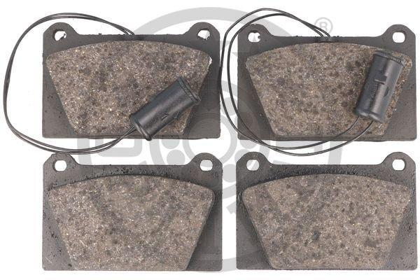 Bremsbelagsatz, Scheibenbremse Vorderachse OPTIMAL 9247 Bild 3