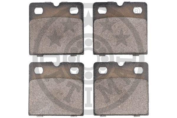 Bremsbelagsatz, Scheibenfeststellbremse Hinterachse OPTIMAL BF-0001 Bild 2