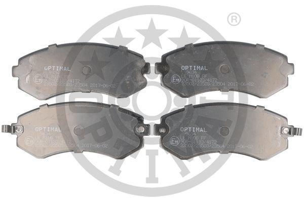 Bremsbelagsatz, Scheibenbremse OPTIMAL BP-09634