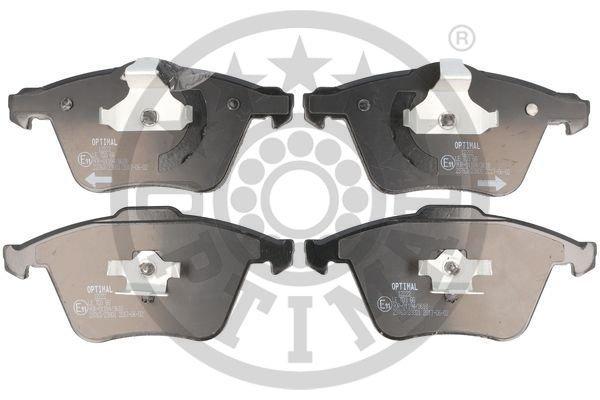 Bremsbelagsatz, Scheibenbremse Vorderachse OPTIMAL BP-12222