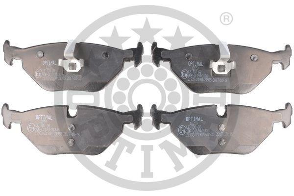 Bremsbelagsatz, Scheibenbremse Hinterachse OPTIMAL BP-12259