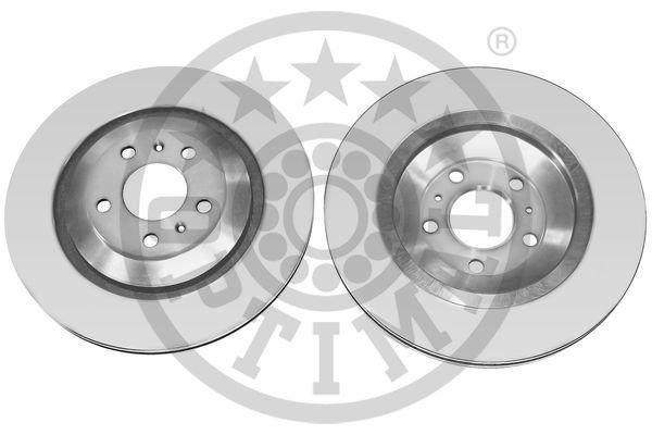 Bremsscheibe Hinterachse OPTIMAL BS-8172C