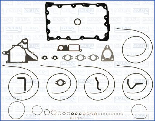 Dichtungssatz, Kurbelgehäuse AJUSA 54078800