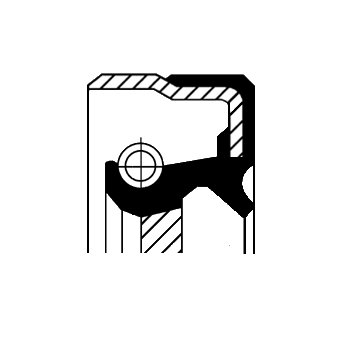 Wellendichtring, Differential CORTECO 01016886B