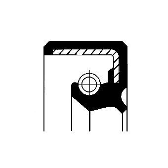 Wellendichtring, Schaltgetriebe CORTECO 12001838B