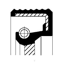 Wellendichtring, Schaltgetriebe CORTECO 01031612B