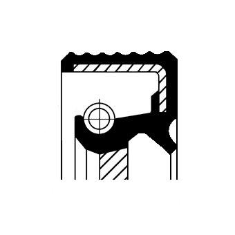 Wellendichtring, Schaltgetriebe CORTECO 01030101B