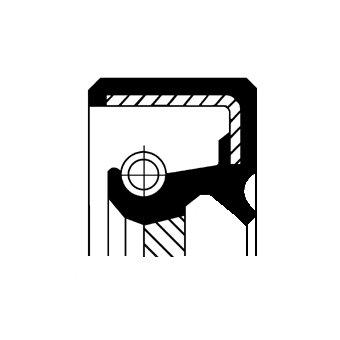 Wellendichtring, Kurbelwelle getriebeseitig CORTECO 19029925B