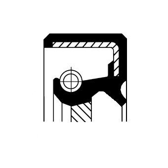 Wellendichtring, Schaltgetriebe CORTECO 19016530B