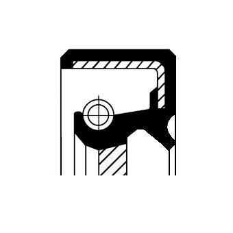 Wellendichtring, Kurbelwelle stirnseitig CORTECO 19034959B