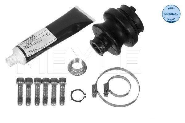 Faltenbalgsatz, Antriebswelle getriebeseitig Hinterachse MEYLE 014 003 0301