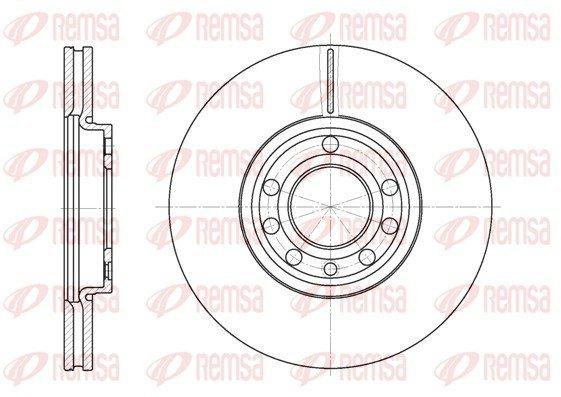 Bremsscheibe Vorderachse REMSA 6689.10