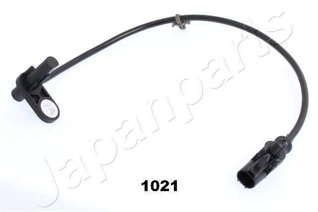 Sensor, Raddrehzahl hinten rechts JAPANPARTS ABS-1021