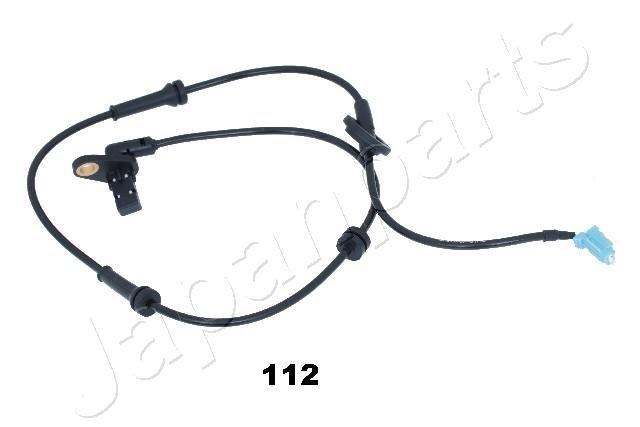 Sensor, Raddrehzahl Vorderachse links JAPANPARTS ABS-112