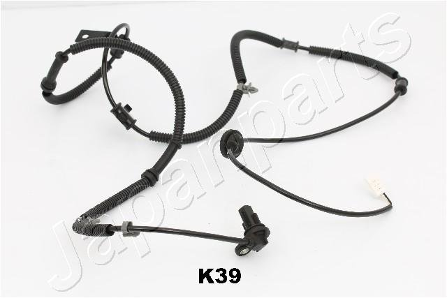 Sensor, Raddrehzahl Hinterachse rechts JAPANPARTS ABS-K39