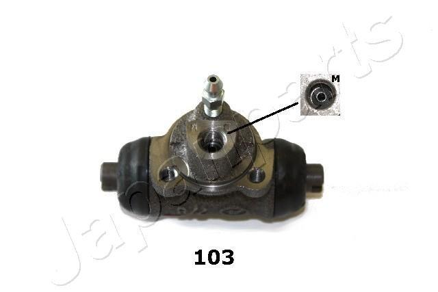Radbremszylinder Hinterachse JAPANPARTS CS-103