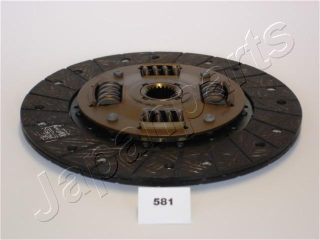 Kupplungsscheibe JAPANPARTS DF-581