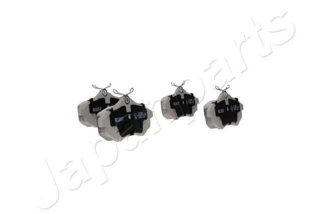 Bremsbelagsatz, Scheibenbremse Vorderachse JAPANPARTS PA-0008AF