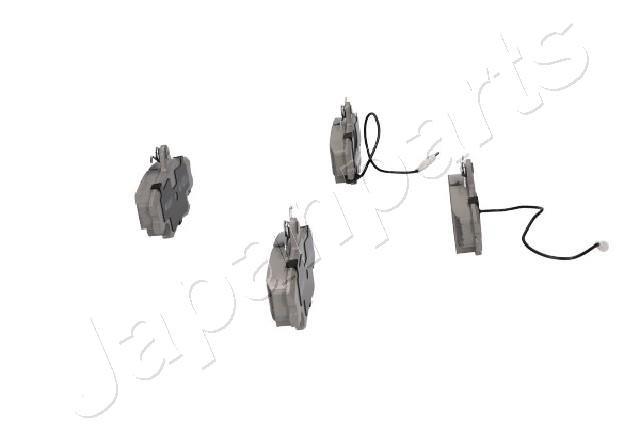 Bremsbelagsatz, Scheibenbremse Vorderachse JAPANPARTS PA-0037AF