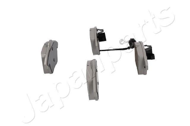 Bremsbelagsatz, Scheibenbremse Vorderachse JAPANPARTS PA-0047AF Bild 2