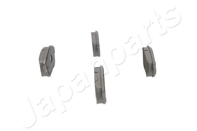 Bremsbelagsatz, Scheibenbremse Vorderachse JAPANPARTS PA-0080AF