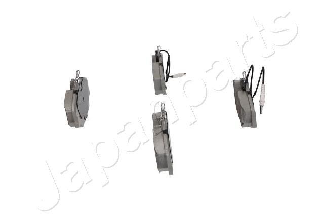 Bremsbelagsatz, Scheibenbremse Vorderachse JAPANPARTS PA-0081AF