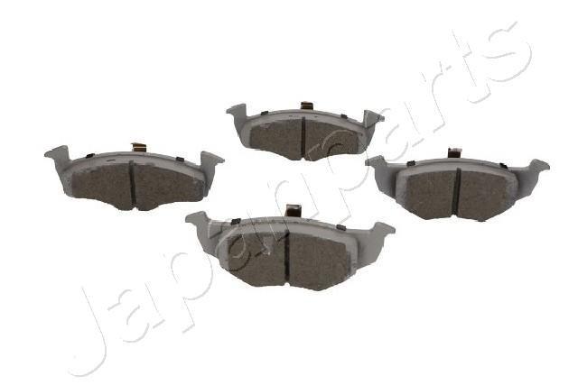 Bremsbelagsatz, Scheibenbremse Vorderachse JAPANPARTS PA-0086AF
