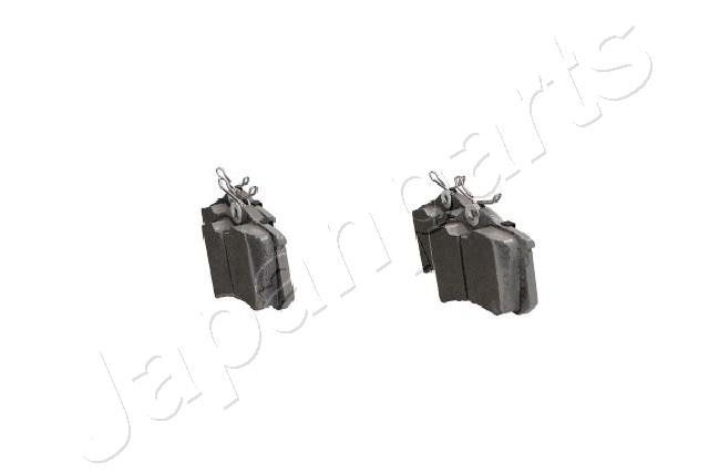 Bremsbelagsatz, Scheibenbremse Hinterachse JAPANPARTS PP-0018AF
