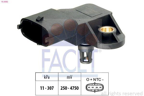 Sensor, Ladedruck FACET 10.3082