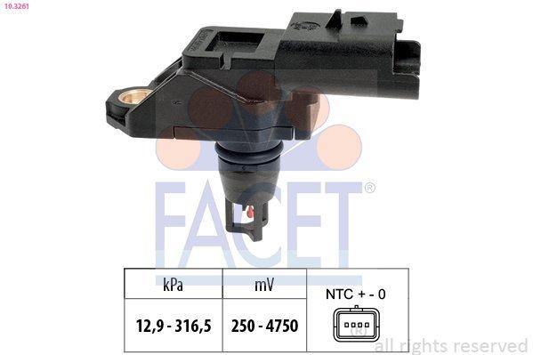 Luftdrucksensor, Höhenanpassung FACET 10.3261