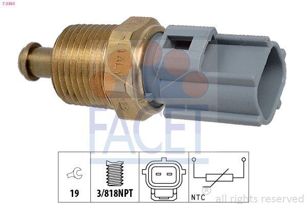 Sensor, Öltemperatur FACET 7.3363