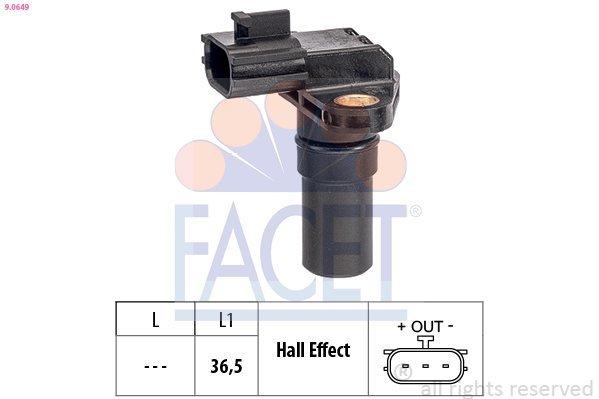 Drehzahlsensor, Automatikgetriebe FACET 9.0649