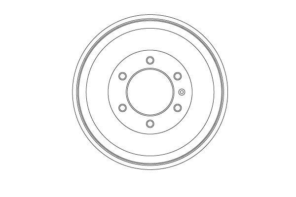 Bremstrommel TRW DB4451 Bild 1