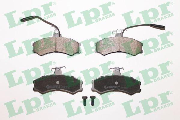 Bremsbelagsatz, Scheibenbremse LPR 05P012