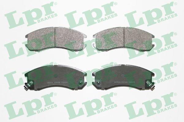Bremsbelagsatz, Scheibenbremse LPR 05P036