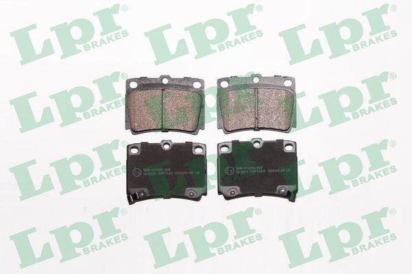 Bremsbelagsatz, Scheibenbremse LPR 05P1029