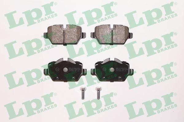 Bremsbelagsatz, Scheibenbremse LPR 05P1249 Bild 1