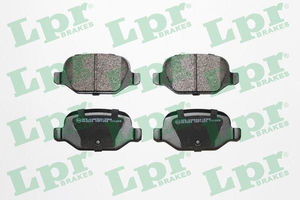 Bremsbelagsatz, Scheibenbremse LPR 05P1265