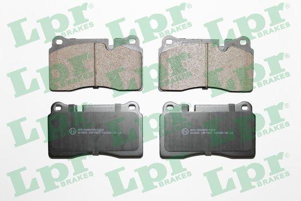Bremsbelagsatz, Scheibenbremse LPR 05P1505